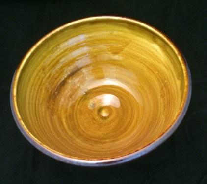 Flint Hills Porcelain Turkish amber inside.