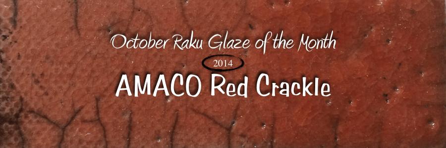Raku GOTM – Red Crackle