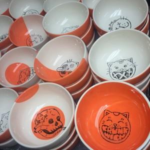 Krunkwich Ramen Bowls by Print and Clay
