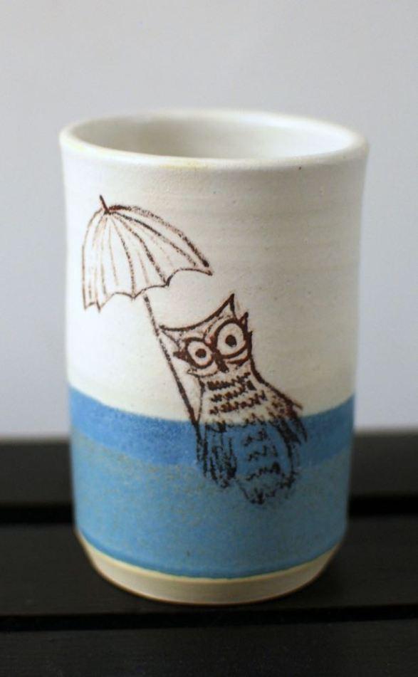 mr owl umbrella cup