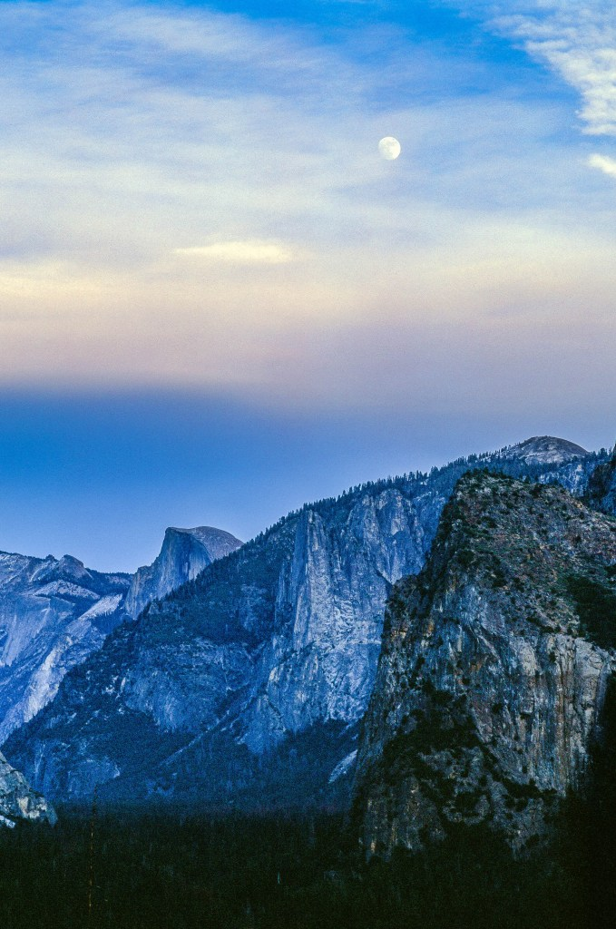 Moonrise at Yosemite