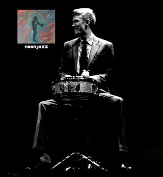 photo of Brian Steever Kansas City jazz drummer
