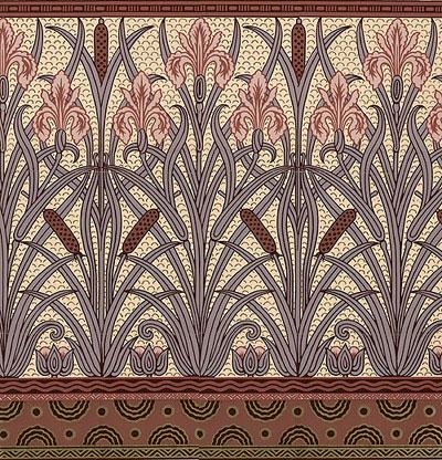 art nouveau wallpaper about art nouveau. Black Bedroom Furniture Sets. Home Design Ideas