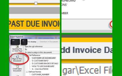 How to Create a Button Link in Excel – Link Between Worksheets