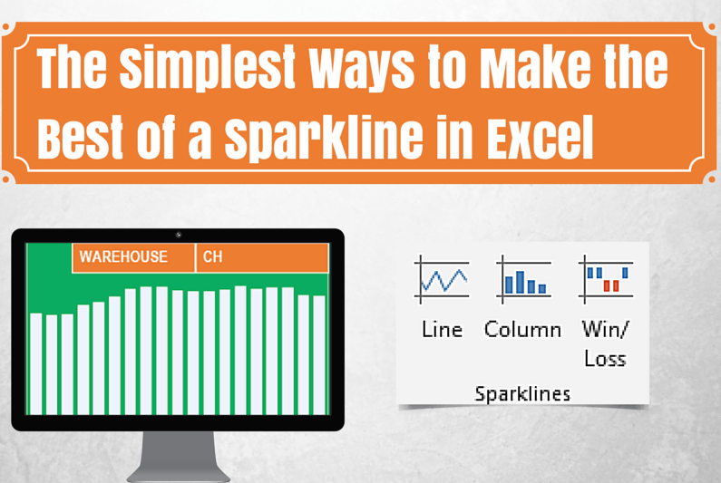 The Simplest Ways to Make The Best of a Sparkline in Excel