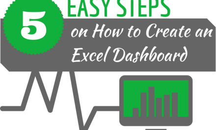 how to create a dashboard in excel pdf