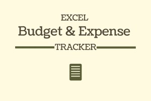 EXCEL - BUDGET & EXPENSE TRACKER - Gumroad - 2