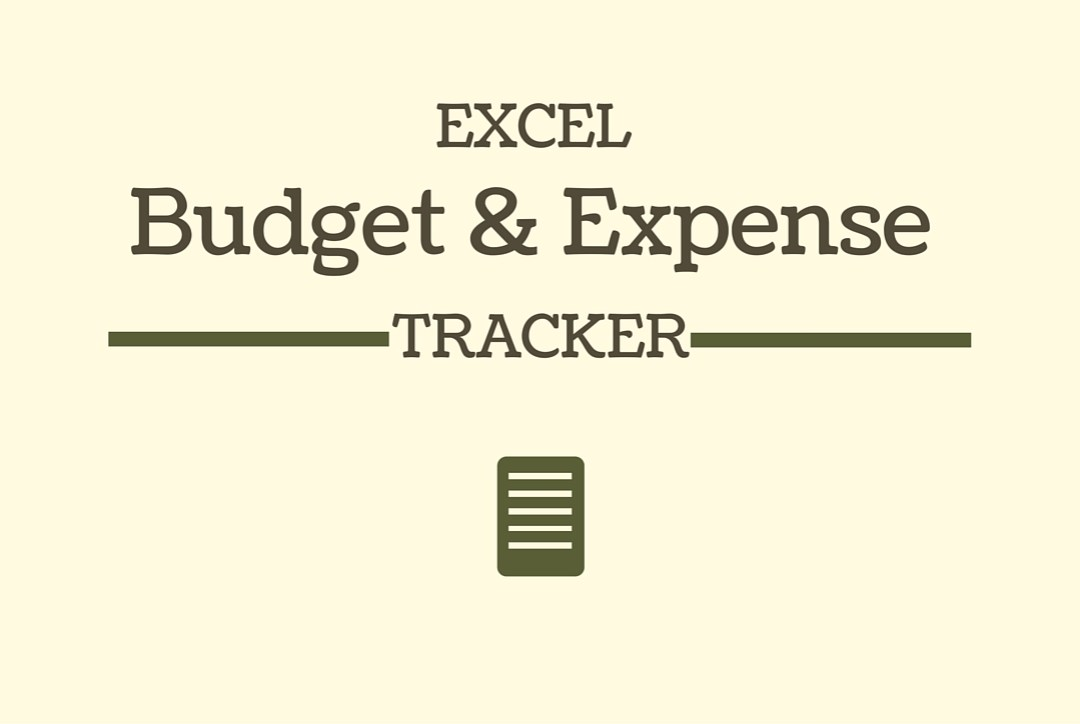 Excel Budget and Expense Tracker Image