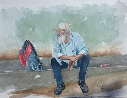 Ben Love S Paintings Of Bradenton Homeless Reveal Their Dignity Herald