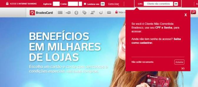 Bradescard Fatura online