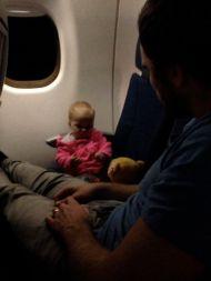 Keeping Busy on a Night Flight