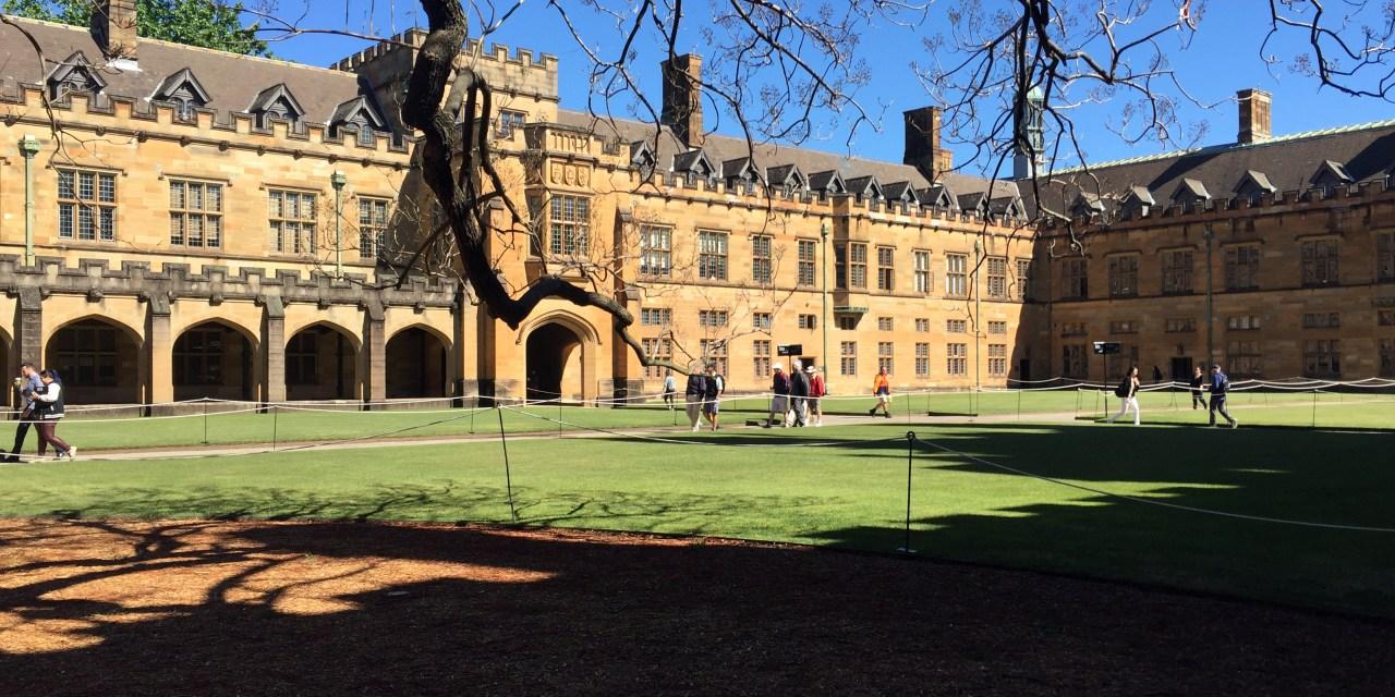 Life as a University of Sydney Fellow