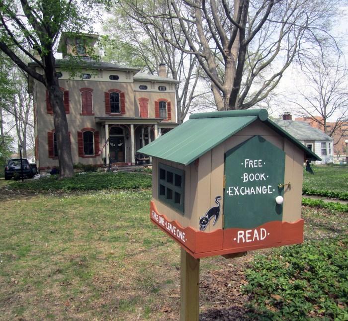 April 13th: Book Exchange (Urbana, IL)