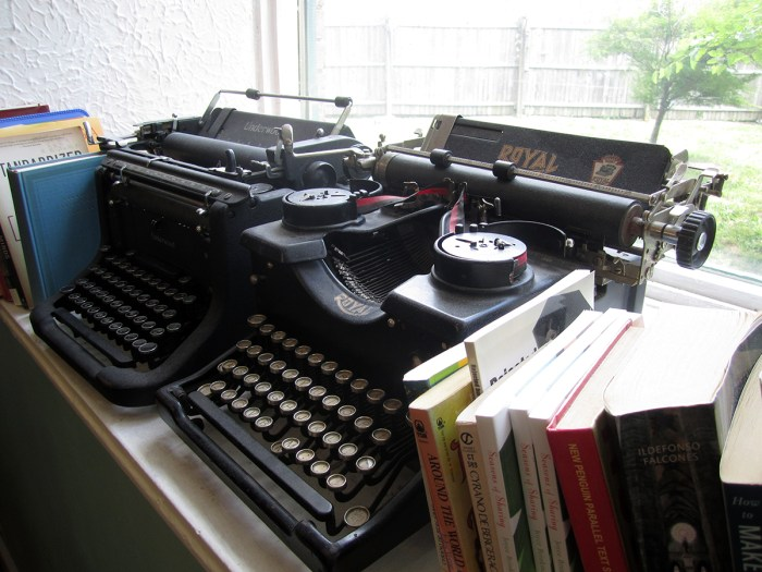 June 14th: Old typewriters