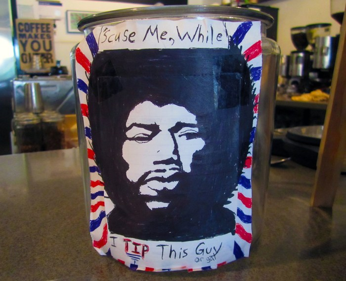 July 5th: Tip jar