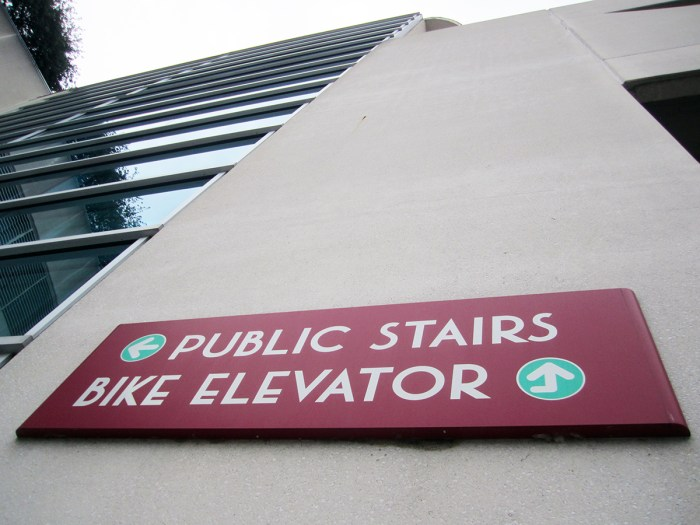July 1st: Bike Elevator