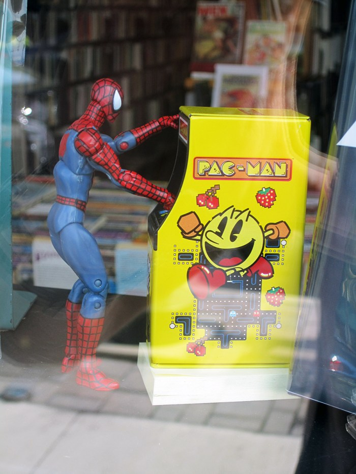 July 29th: Spiderman plays Pac Man (Normal, IL)