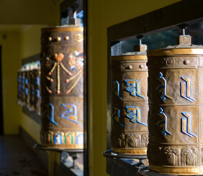 Oct. 20th: Prayer Wheels