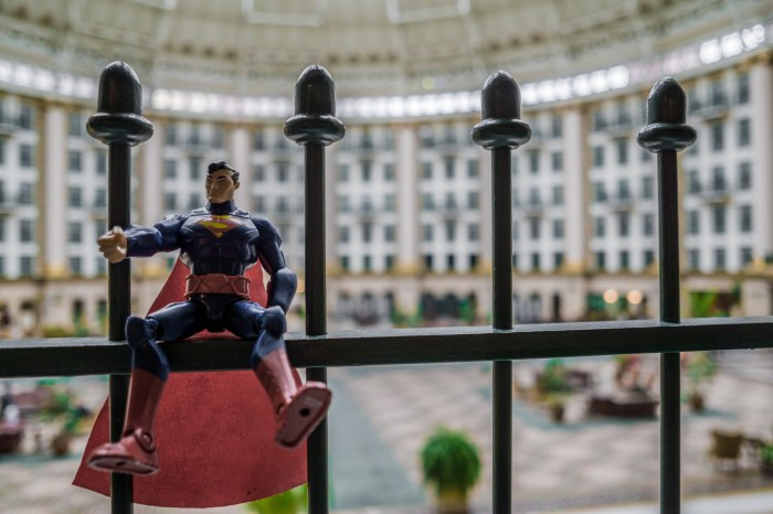 Superman at West Baden