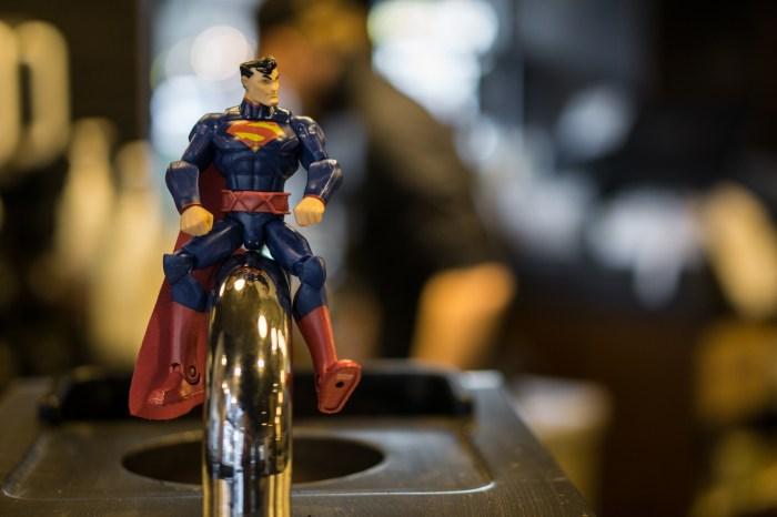 Superman at Starbucks