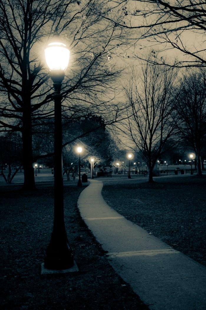 Feb 23rd: Park Lights at Night