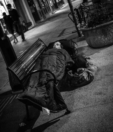July 12th: Homeless man, Madison