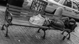 Sept 13th: Sleeping Homeless Man