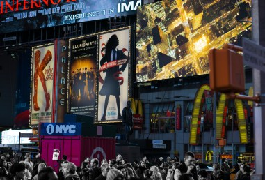 Nov 3: Times Square, NYC