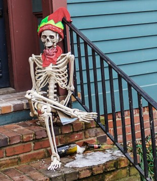 Jan. 15th: Christmas Skeleton