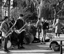 Jazz Band in Greenwich Village