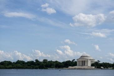 April 4th: Jefferson Memorial from Tidal Basin