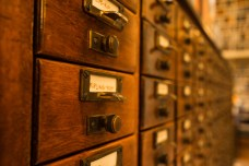 July 3: Card Catalog (Brown University)