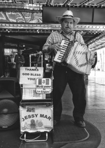 Sept 1: Accordion Player