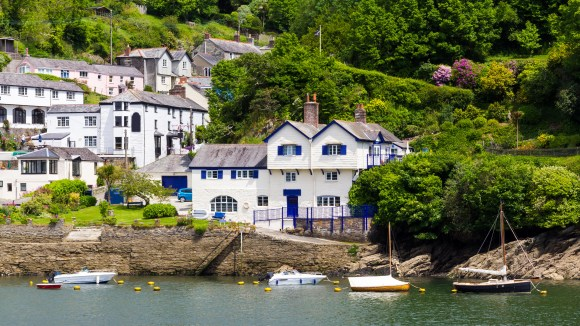 Fowey Cornwall by Gordon Bell, Shutterstock