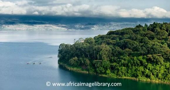 Lake Kivu Rwanda by Ariadne Van Zandbergen Africa Image Library