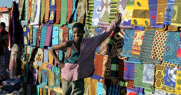 The chitenge, a traditional Malawian batik cloth by Dana Allen Central African Wilderness Safaris