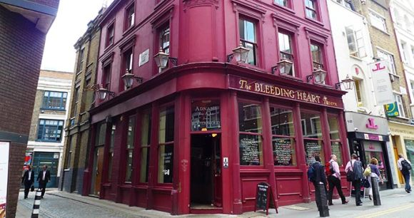 Bleeding heart restaurant Clerkenwell Ewan Munro