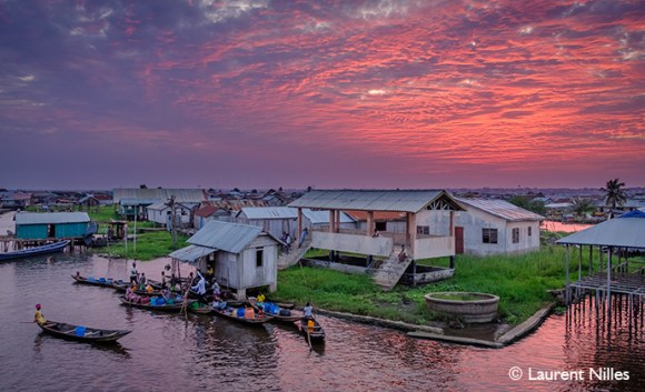 Floating Silt Village, Ganvié, Benin, Laurent Nilles