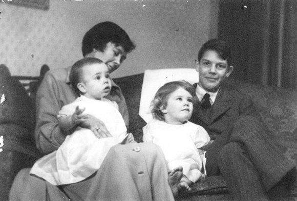 Jonathan Scott as a baby