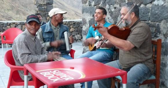 Musicians, Cha das Caldeiras, Cape Verde