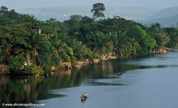 Volta river Ghana by Ariadne Van Zandbergen