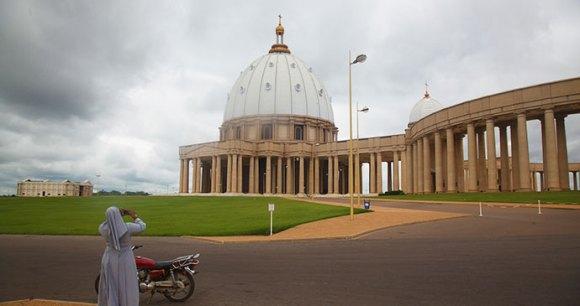Basilique de Notre Dame de la Paix Yamoussoukro Ivory Coast by Alex Sebley