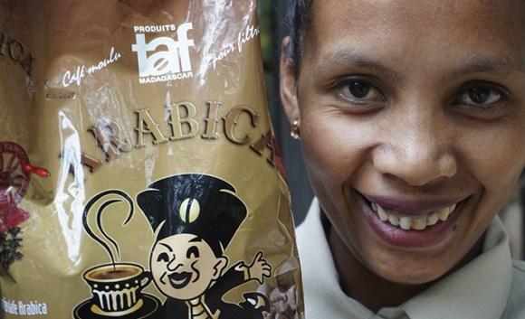 TAF Le Gourmet coffee Madagascar by Nicole Motteux