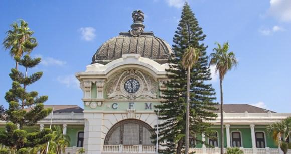 Maputo train station Mozambique by Fedor Selivanov, Shutterstock