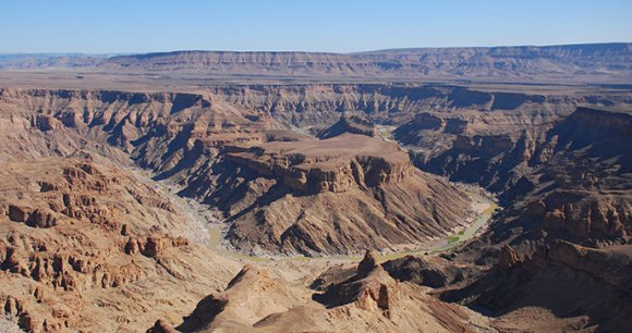 Fish River Canyon Namibia by Tricia Hayne