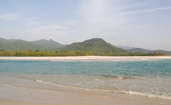 Beach river number two by National Tourist Board of Sierra Leone