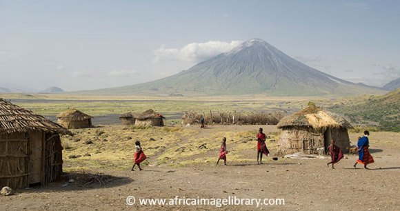 Maasai camel safari Mount Meru Arusha Tanzania by Ariadne Van Zandbergen
