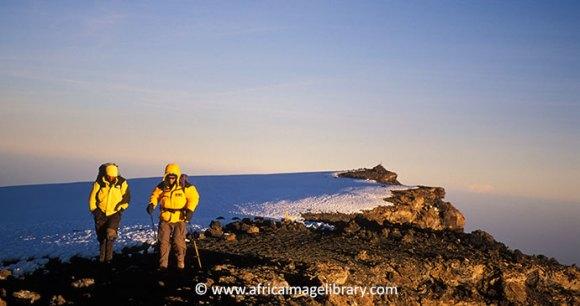 The summit of Mount Kilimanjaro: Uhuru Peak by Ariadne Van Zandbergen, Africa Image Library, www.africaimagelibrary.com