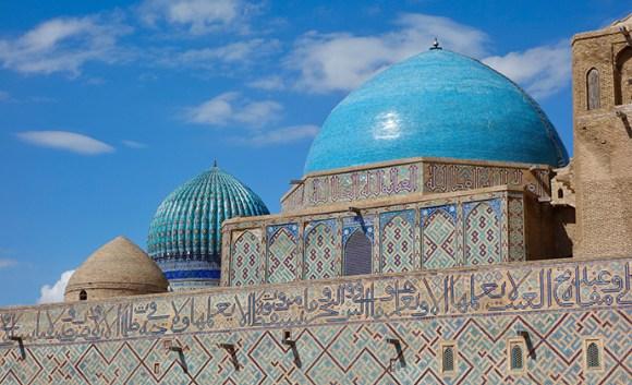 Khoja Ahmed Yassaui Mausoleum Turkestan Kazakhstan by Maria Oleynik