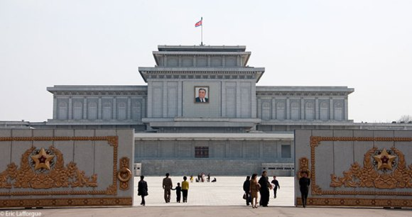 The Kumsusan Memorial Palace of the Sun Pyongyang North Korea by Eric Lafforgue